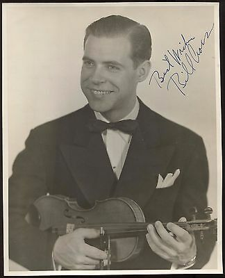 Bill Cross  Signed 8x10 Photo Autographed Vintage AUTO Signature ORCHESTRA