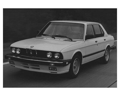 1987 BMW 535is Automobile Photo Poster zch8534
