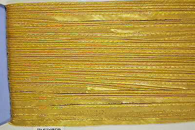 10mm Gold Satin Piping Edge (per metre)