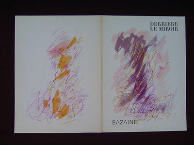 Art Catalogue-DLM 170-JEAN BAZAINE-LITHOGRAPH-Derriere le Miroir-1968