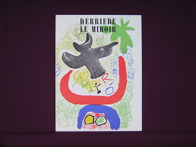 Art Catalogue-DLM 29-30-JOAN MIRO-LITHOGRAPH-Derriere le Miroir-1950