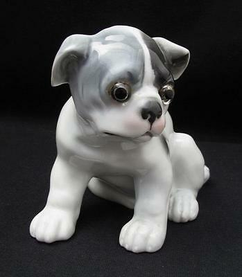 Ernst Bohne German Porcelain Figural Bulldog Perfume Lamp Night Light Germany