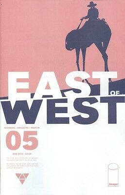 East Of West #5 (NM)`13 Hickman/ Dragotta (1st Print)