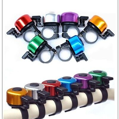 Bicycle Bell Ringing Sound Crisp Mountain Biking Equipment Multicolor Horn Ring
