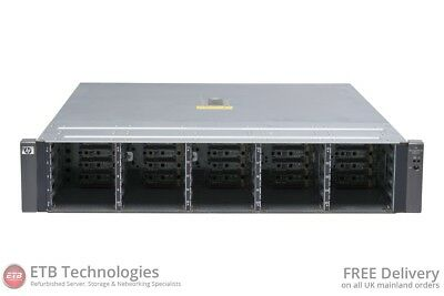 HP StorageWorks MSA70 Storage Array - 2 x Controller, 2 x PSU, 0 x HDD
