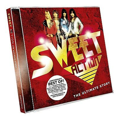 Sweet - Action! The Ultimate Sweet Story (Anniversary Edit 2 Cd Neu