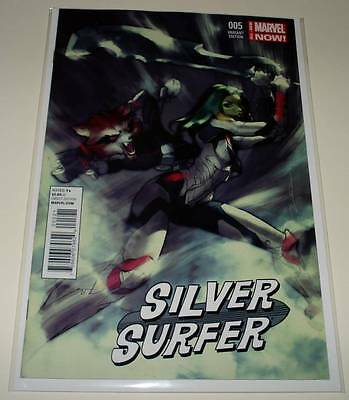 SILVER SURFER # 5  Marvel Comic  Oct 2014   NM  1:15 GUARDIANS / GALAXY VARIANT