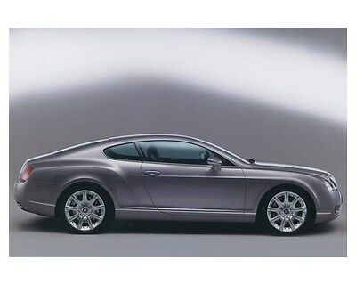 2003 Bentley Continental GT Automobile Photo Poster zch8571