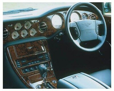 2003 Bentley Arnage R Interior Automobile Photo Poster zch8573
