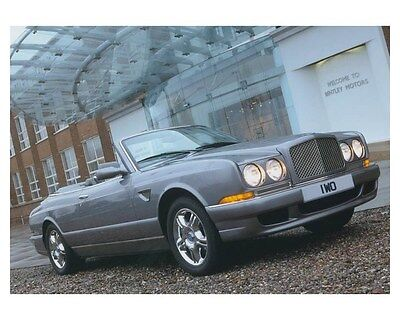 2003 Bentley Azure Final Series Automobile Photo Poster zch8574