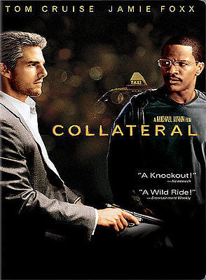 Collateral (DVD, 2004, 2-Disc Set) Widescreen NEW