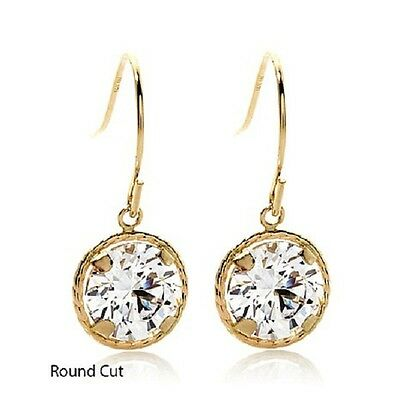VICTORIA WIECK 4.53CT ABSOLUTE STERLING PAVE CLUSTER 2 TONE PIERCED EARRINGS HSN
