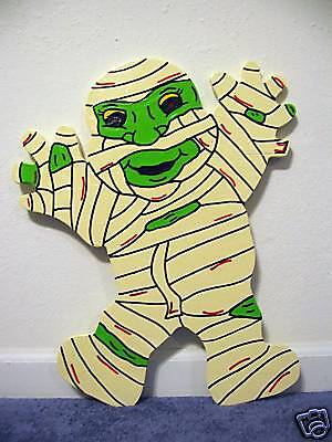 Cute Mummy Halloween Lawn Yard Art Decoration