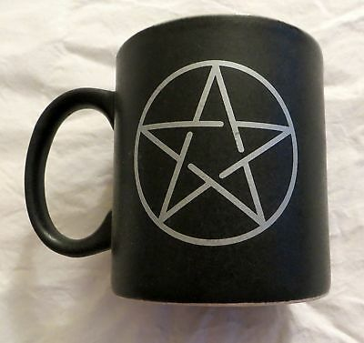 Pentacle Coffee Mug - New - Pagan Wiccan Pentagram Cup