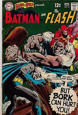 The Brave and the Bold #81 VG 4.0 1969 DC Batman Flash See my store