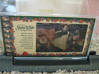 Disney Showcase Coll COLLECTOR MOTION CELS Snow White Lenticular Motion RARE