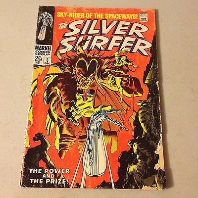 SILVER SURFER #3 Marvel Silver Age comic 1st Appearance MEPHISTO