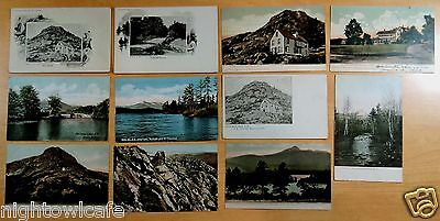 Lot of 11 Antique Postcards ALL COLEBROOK, NH New Hampshire ALL UNDIVIDED BACK
