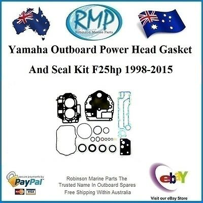 A Brand New Power Head Gasket & Seal Kit Suits Yamaha F25hp # 65W-W0001