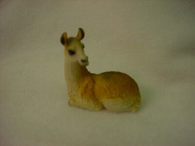 LLAMA animal TiNY resin  Figurine HAND PAINTED MINIATURE Collectible mini Lama