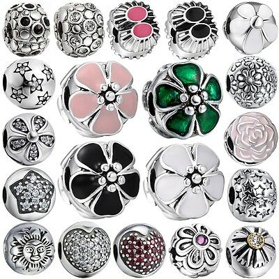 New Arrival Brand Silver Diy Charms Bead Clip On New European 925 Bracelet Chain