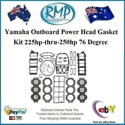A Brand New Power Head Gasket & Seal Kit Yamaha 225hp-250hp # 61A-W0001