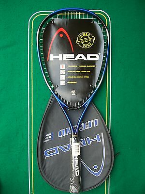 HEAD LEGEND Oversize Graphite Widebody Beginner's Racket 4 1/2 Strung Cover NEW