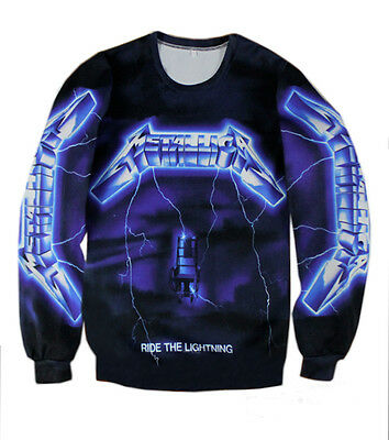 Metallica Ride the Lightning  T-shirt Sweatshirt #S233