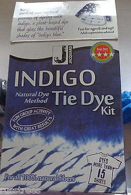 Jacquard Natural Method Indigo Tie Dye Kit