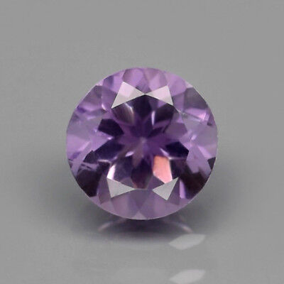 Only! $4.97/1pc 6mm Round Natural Unheated Purple Amethyst, Uruguay