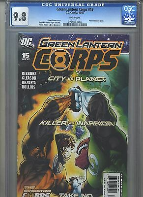 Green Lantern Corps #15 CGC 9.8 (2007) Highest Grade Only 3 @ 9.8