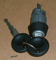 Ignition barrel and keys VW Beetle and Type 2 1971 on