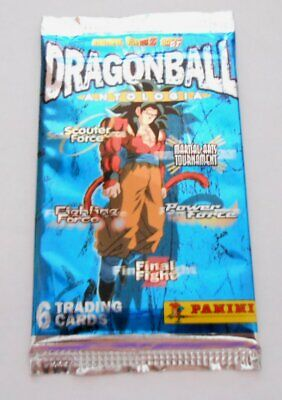 Dragon Ball Antologia Z GT Lotto 20 Bustine Cards Panini