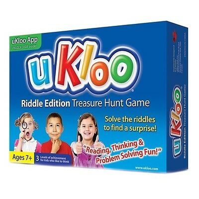 UKloo Riddle Edition Treasure Hunt Logic Reasoning Decision Making Problem Solve