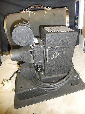 EDUSCOPE SAVAGE & PARSONS 35mm filmstrips & slide projector RARE museum quality
