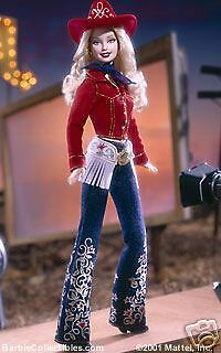 Barbie Western Chic Collector Edition 2001 Blonde