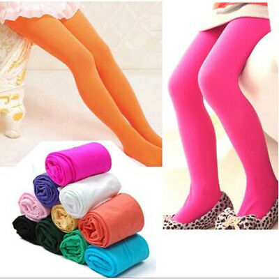 New Baby Girls Tights Soft Kids Girls Socks Tights Pantyhose 2-12 years Y
