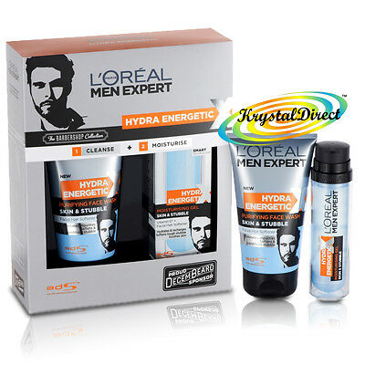 L'oreal Men Expert Skin & Stubble The BARBER SHOP Collection Xmas Gift Set