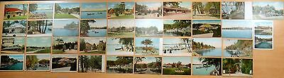 Lot of 38 Antique Postcards ALL CANOBIE LAKE PARK, NH New Hampshire 5 UDB