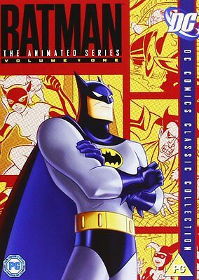 Batman The Animated Series Season 1 Volume 1 DVD Region 2 Brand New