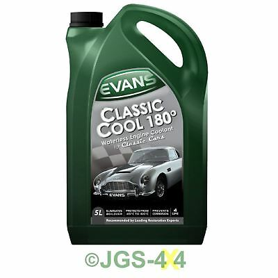 Evans Classic Cool 180° Waterless Engine Coolant For Classic Cars (5 Litres)