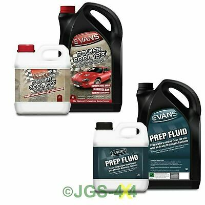 Evans Power Cool 180° Waterless Engine Coolant Conversion Kit (7+7 Litres)