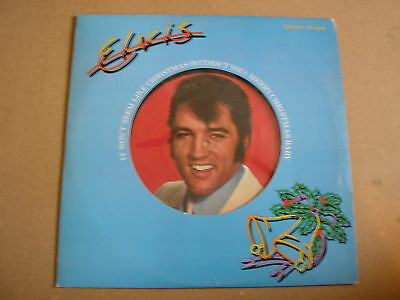 "ELVIS PRESLEY It Won't Seem Like Christmas UK 12"" Merry Christmas Baby"