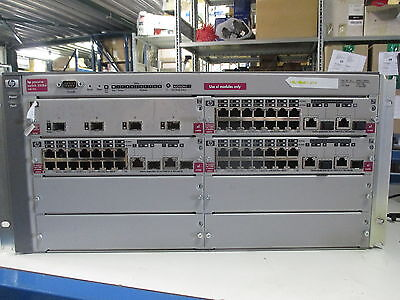 EMPTY HP ProCurve 5308XL 8-Slot Rack Mount Modular Switch Bare Chassis J4819A