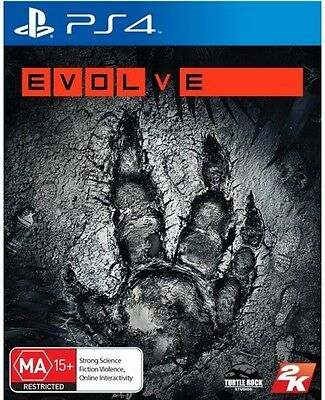 EVOLVE Game Sony PlayStation 4 PS4 Brand New
