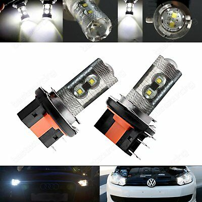 2X CREE H15 Bulb LED 50W Daytime Driving Light DRL VW Amarok Caddy Golf Tiguan