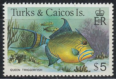 Turks & Caicos 1978 ** Mi.419 I Fische Fish Höchstwert High value [sq5848]