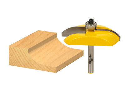 """Raised Panel Router Bit - Carbide Tipped - Cove - 1/4"""" Shank  - Yonico 12133q"""