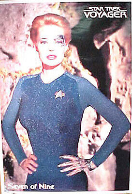 """Star Trek Voyager 7 of 9 Poster- Jeri Ryan-Imported from Germany 24"""" x 34"""""""