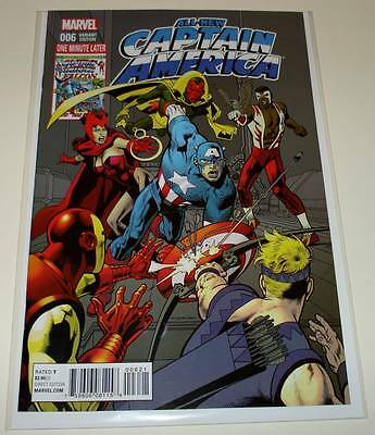 ALL-NEW CAPTAIN AMERICA # 6 Marvel Comic Jun 2015  NM  1:15 NOWLAN VARIANT COVER